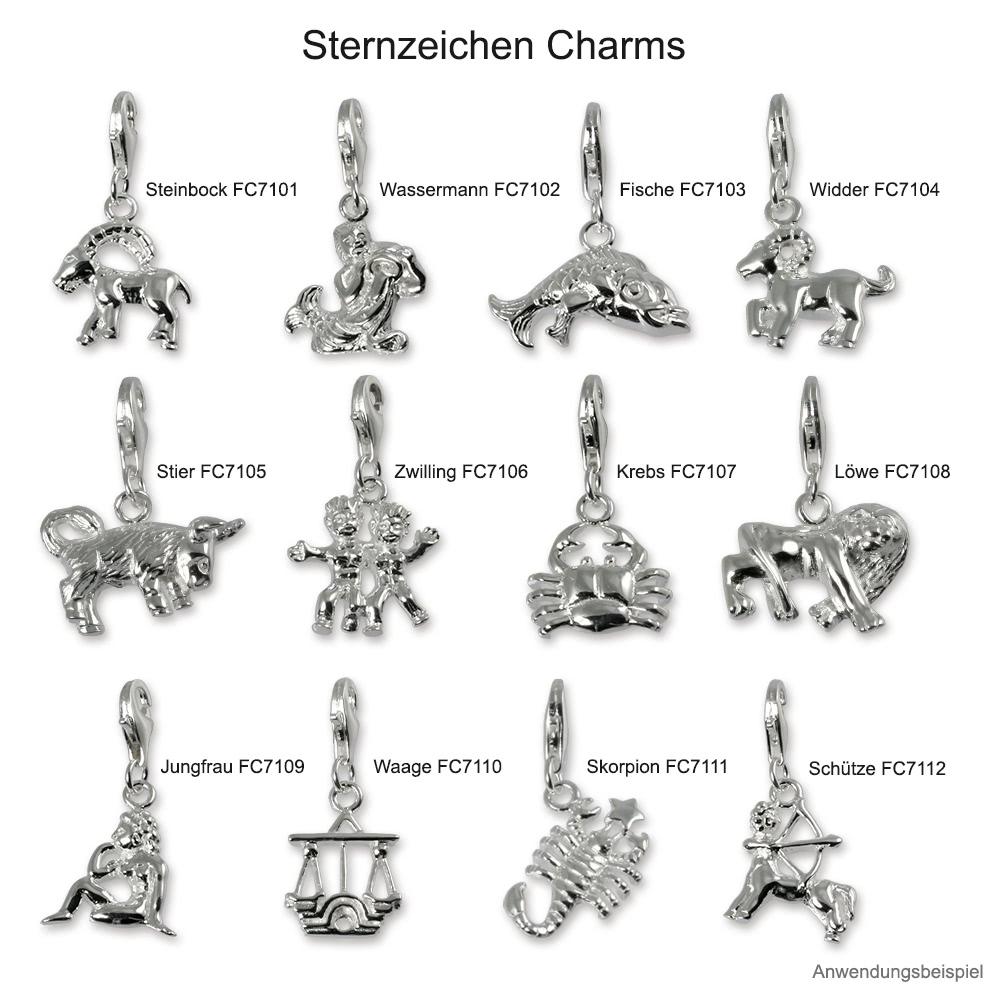 charm skorpion sternzeichen anh nger silber dream charms fc7111. Black Bedroom Furniture Sets. Home Design Ideas