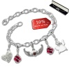 Armband Fashion Charm Set Angels in 925 Sterling Silber Anhänger - Silber Dream Charms - FCA323