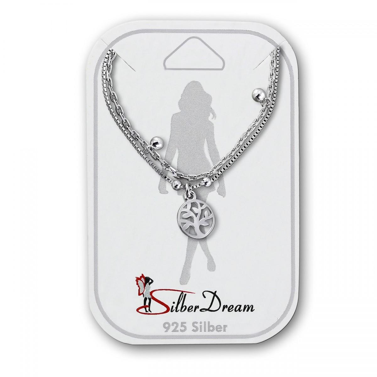 SilberDream Fu/ßketten 25cm bis 28cm 925er Silber verschiedene Designs D3SDF5900JX