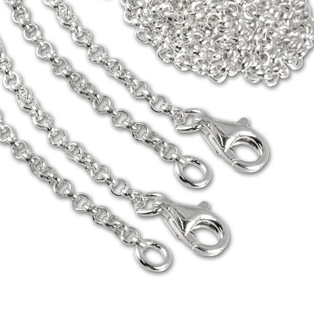 SilberDream Sterling Silber Charm Halskette 2x45cm FC002845-2