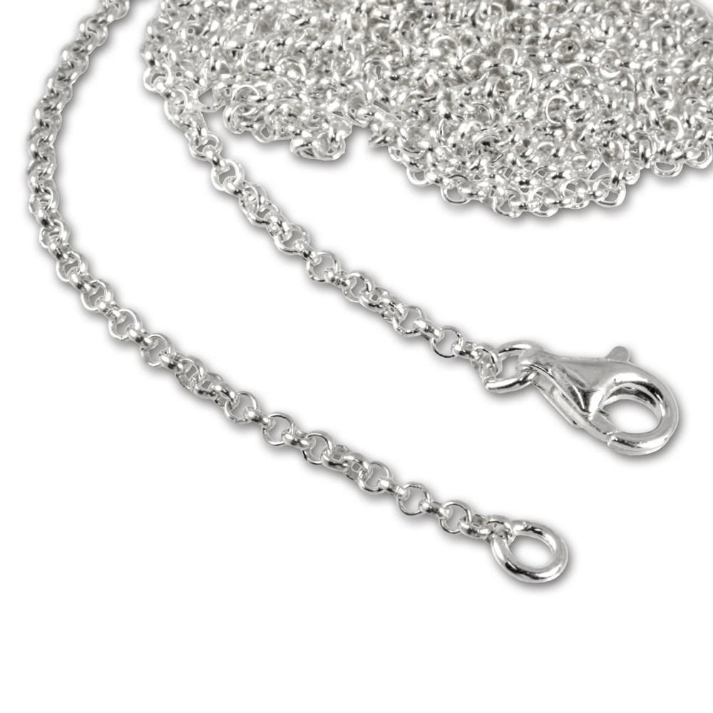 SilberDream Sterling Silber Charm Kette Halskette 70cm FC00297-1