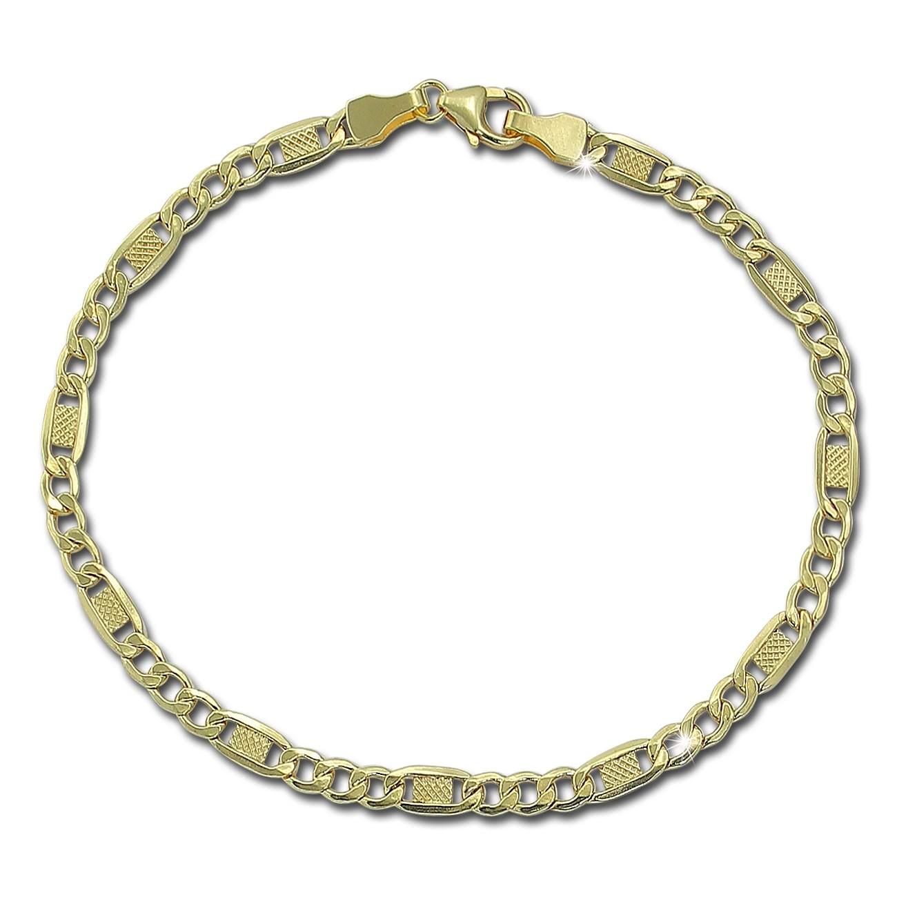 GoldDream Damen Armband 19cm Gelbgold 8 Karat GDAB01019Y