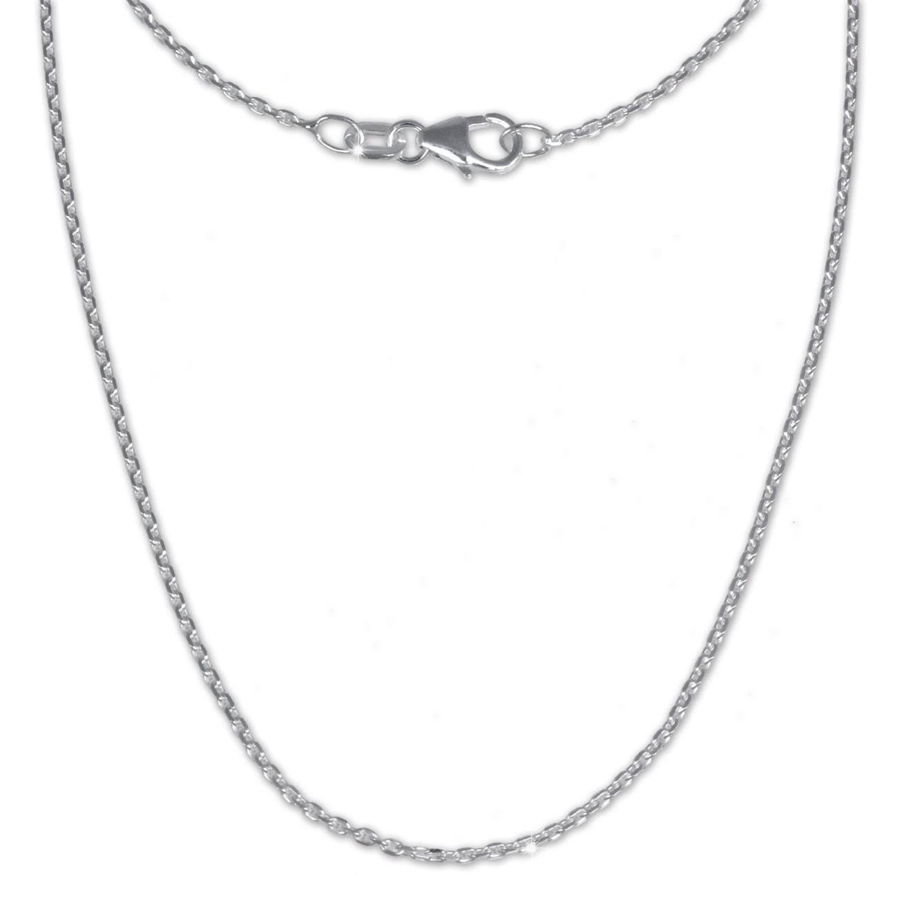 SilberDream Ankerkette fein 925er Silber Halskette 60cm Kette SDK21160
