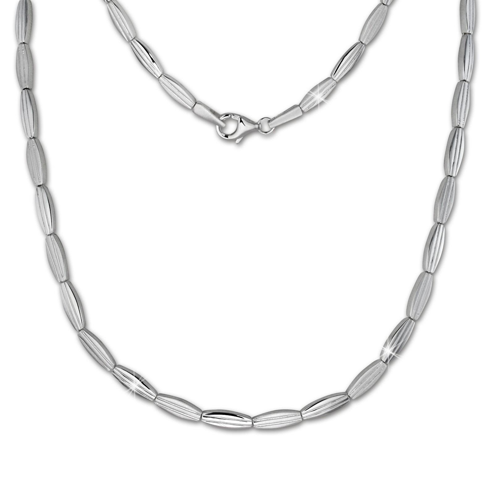 SilberDream Collier Kette Fantasie 925 Silber 44,5cm Halskette SDK441J