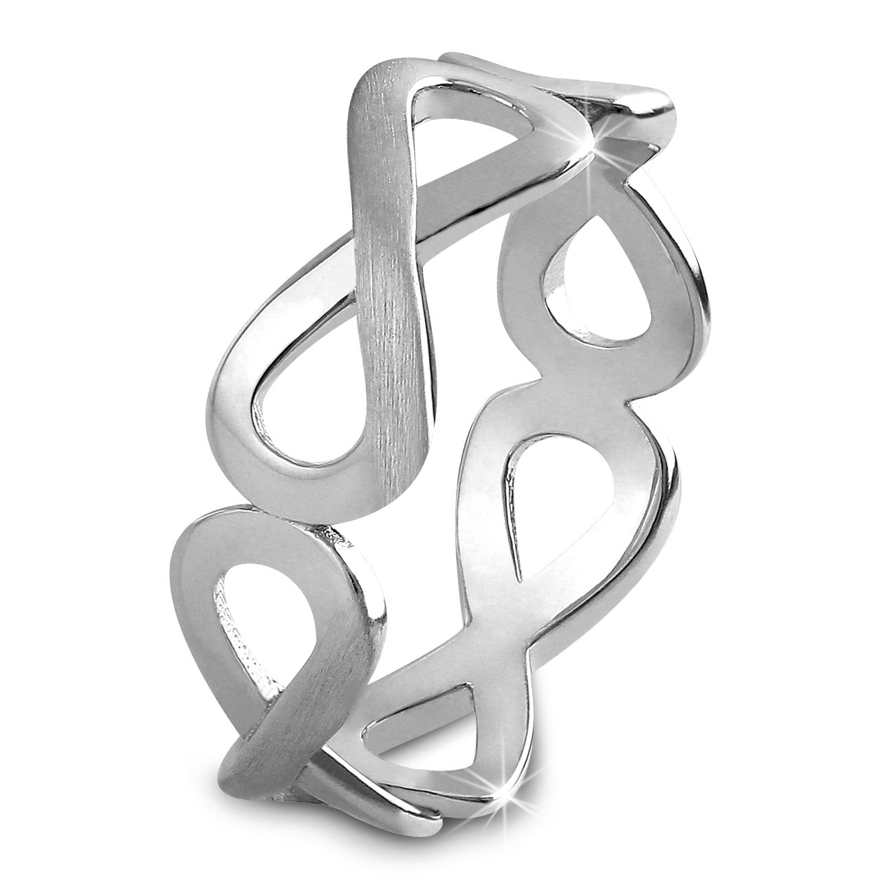 SilberDream Ring Unendlichkeit Gr. 58 Sterling 925er Silber SDR401J58