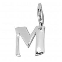 SilberDream 925 Charm Buchstabe M Silber Armband Anhänger FC70M