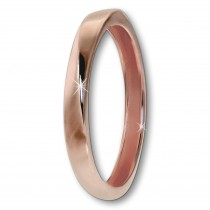 GoldDream Gold Ring Gr.54 Twist 333er Rosegold GDR522E54