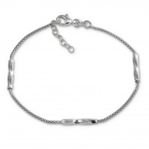 SilberDream Armband 925 Sterling Silber Damen 18cm - 21cm SDA1168J