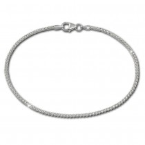 SilberDream Armband Himbeerkette 925er Sterling Silber Damen 20cm SDA2180J