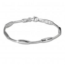 SilberDream Armband Design 925 Sterling Silber 19,3cm Silberarmband SDA404