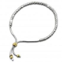 SilberDream Armband Perlen diamantiert 925er Sterling Silber Damen SDA7004T