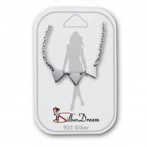 SilberDream Fußkette Dreiecke 25cm 925 Sterling Silber SDF5205J