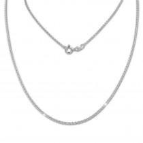 SilberDream Kette Anker rund 925 Sterling Silber 50cm Damen Halskette SDK28850J