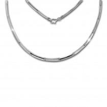 SilberDream Collier Kette Line 925 Sterling Silber 44cm Halskette SDK452J