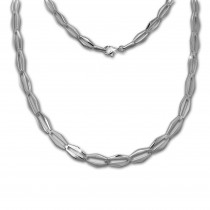 SilberDream Collier Kette Raute 925 Sterling Silber 44,5cm Halskette SDK459J