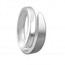 SilberDream Ring klassisch Gr. 56 Sterling 925er Silber SDR404J56