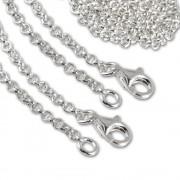 SilberDream Sterling Silber Charm Halskette 2x40cm FC00284-2