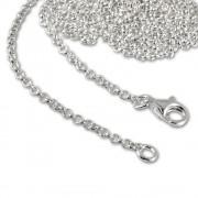 SilberDream Sterling Silber Charm Halskette 100cm FC00291-1