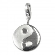 SilberDream 925 Silber Charm YinYang Armband Anhänger FC3107