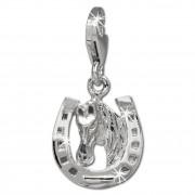 SilberDream Charm Hufeisen 925er Silber Armband Anhänger FC726I