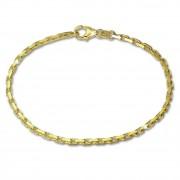 GoldDream Armband Anker diamantiert 333 Gold 18,5cm 8 Karat GDA0228Y
