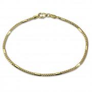 SilberDream Armband Fantasie 333 Gold 19cm 8 Karat GDA0269Y