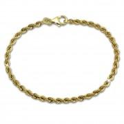 GoldDream Armband Kordel hohl 333 Gold 18,5cm 8 Karat GDA0328Y