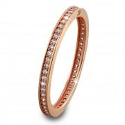 GoldDream Gold Ring Zirkonia weiß Gr.60 333er Rosegold GDR504E60