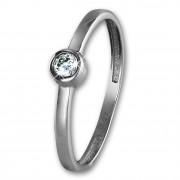 SilberDream Gold Ring Stein Zirkonia weiß Gr.54 333er Weißgold GDR509J54