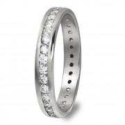 GoldDream Gold Ring Gr.54 Zirkonia weiß 333er Weißgold GDR520J54