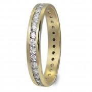 GoldDream Gold Ring Gr.60 Zirkonia weiß 333er Gelbgold GDR520Y60