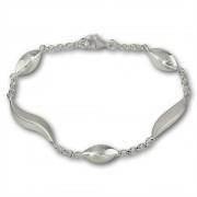 SilberDream Armband Wave 925 Sterling Silber 19,5cm SDA410