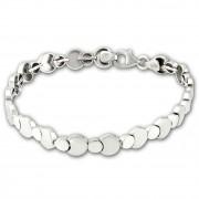 SilberDream Armband Circles 925 Sterling Silber 19cm Silberarmband SDA474J