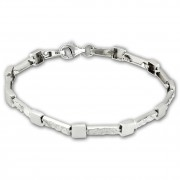 SilberDream Armband Square 925 Sterling Silber 19cm Silberarmband SDA475J