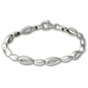 SilberDream Armband Tropfen Zirkonia weiß 925er Silber 18,5cm Damen SDA476W