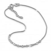 SilberDream Fußkette Fantasie 26cm Damenschmuck 925er Silber SDF0326J
