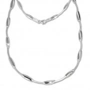 SilberDream Collier Kette Design 925 Silber 45cm Halskette SDK404