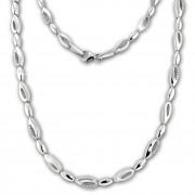 SilberDream Collier Tropfen Zirkonia weiß 925er Silber 45cm Halskette SDK476W