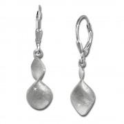 SilberDream Ohrringe Diamont Cut 925 Silber Damen Ohrhänger SDO351M