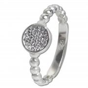 SilberDream Ring Zirkonia-Kreis weiß Gr.60 925er Silber SDR408W60
