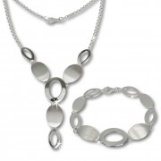 SilberDream Schmuck Set Dream Collier & Armband 925 Silber SDS412
