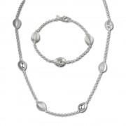 SilberDream Schmuck Set Tropfen Collier & Armband 925 Silber SDS416