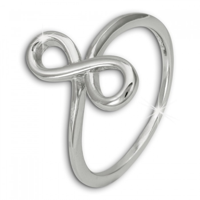 SilberDream Unendlichkeit Ring Damen Gr 52 Ringschmuck 925er Silber SDR401J52