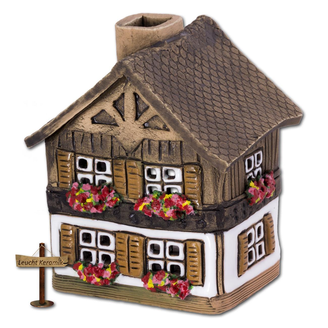lichthaus bayernh uschen wei original leuchtkeramik dkh06w ebay. Black Bedroom Furniture Sets. Home Design Ideas