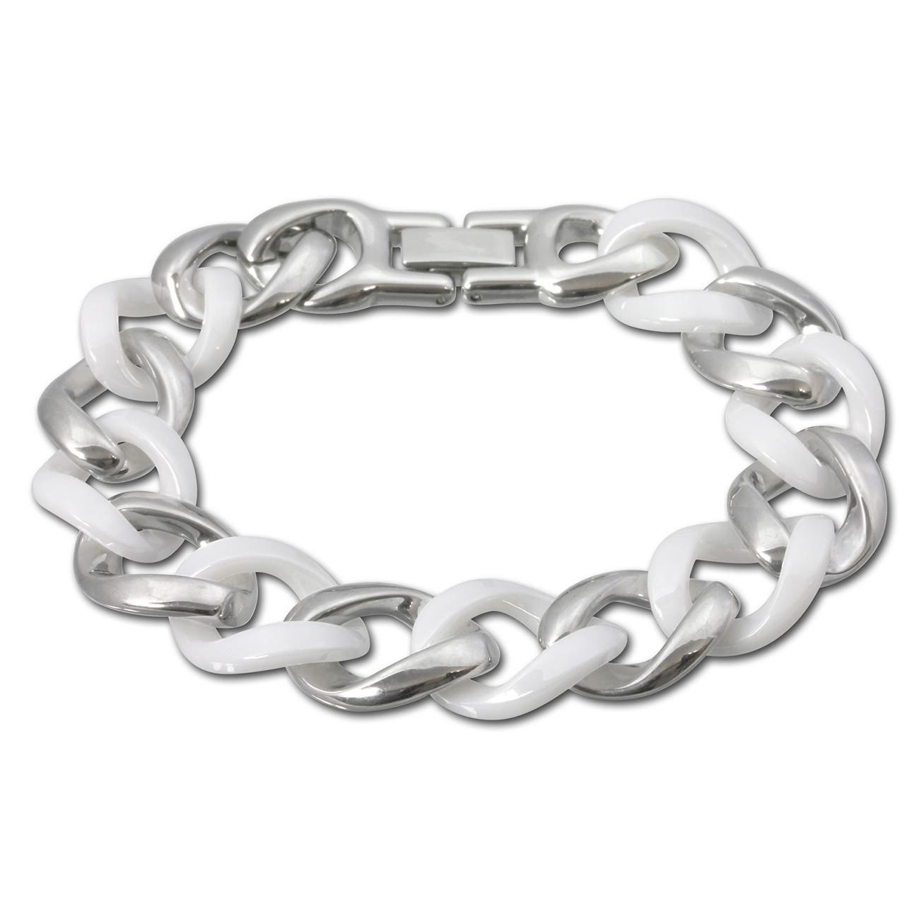 Modeschmuck Armbänder + weiß silber Armschmuck
