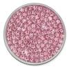 Amello Edelstahl Coin Zirkonia rosa für Coinsfassung Edelstahlschmuck ESC301A