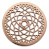 Amello Edelstahl Coin Lotusblume rosegold Zirkonia rose Stahlschmuck ESC532EW