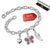 Armband Fashion Charm Set Für Dich in 925 Sterling Silber Anhänger - Silber Dream Charms - FCA318