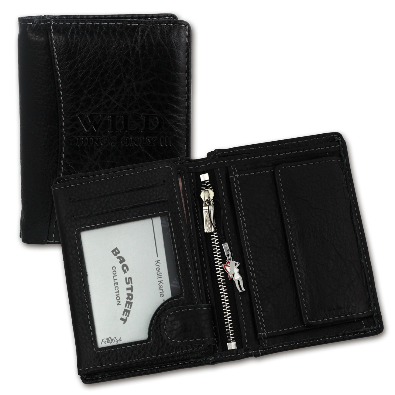 thing and wallet Sleek and classic, our personalized leather passcase bifold wallets are just the thing for men who like to keep it simple genuine leather designs offer durability.