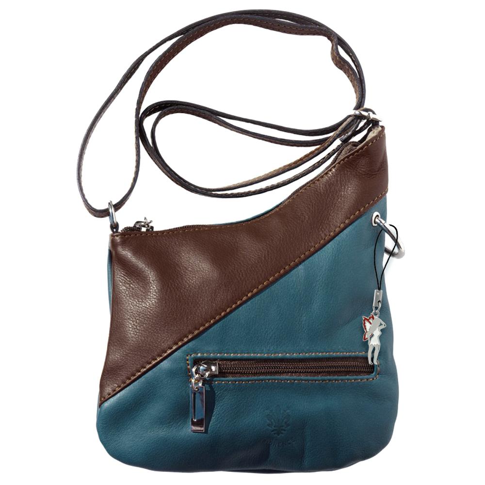 umh ngetasche blau damen handtasche abendtasche made in. Black Bedroom Furniture Sets. Home Design Ideas